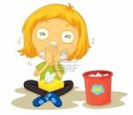 13131722-illustration-of-a-sick-girl